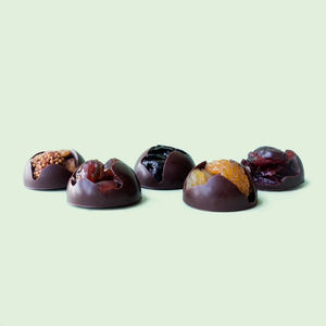 Mix fruit dark chocolate (22pcs) - Chocomono