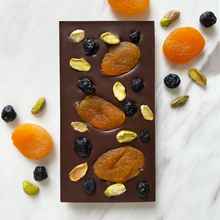 Load image into Gallery viewer, Apricot, blueberry & pistachio - Chocomono