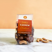 Load image into Gallery viewer, Salted cashew clusters - Chocomono