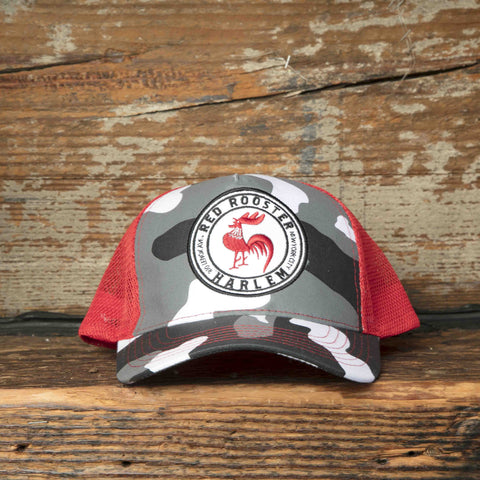 Red Rooster / Camouflage Caps
