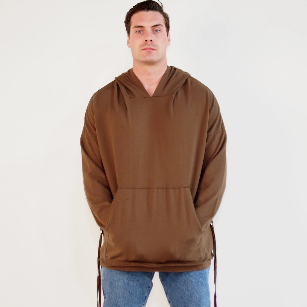 Glass Chains Hoodie Tobacco