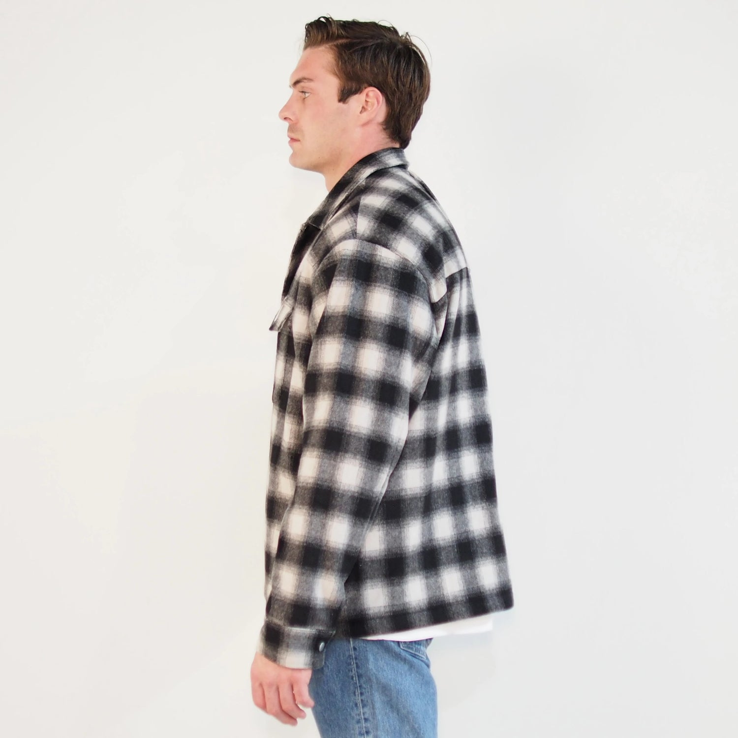 Asher Flannel Shirt Jacket