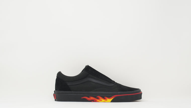 Old Skool 'Flame Wall'