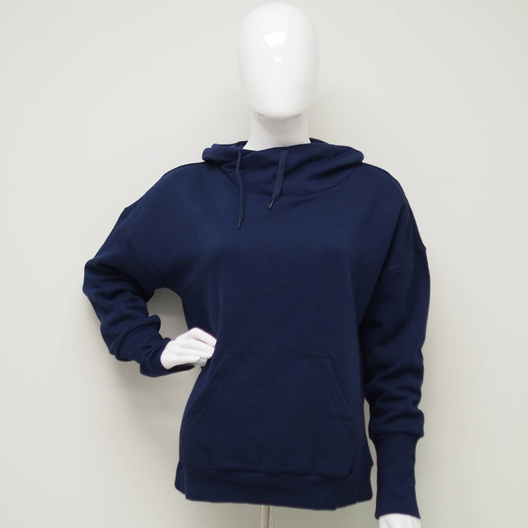 Cowl Neck Fleece Sweatshirt