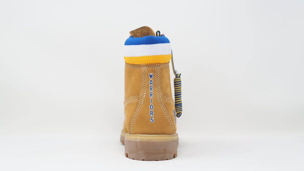 Mitchell & Ness x NBA Golden State Warriors 6 Inch Premium Waterproof Boots