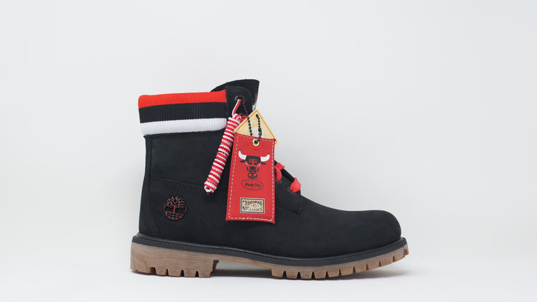 Mitchell & Ness x NBA Chicago Bulls 6 Inch Premium Waterproof Boots