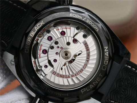 Omega Planet Ocean Deep Black with Clone 8906 Movement.