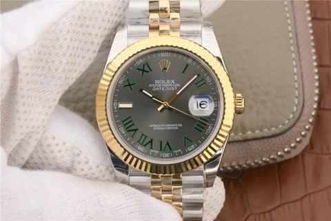Rolex Datejust II 41mm 126333 Two Tone Grey Dial