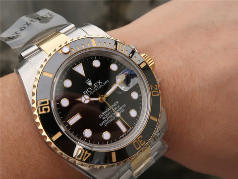 Rolex Submariner 116613 Two Tone 18K Gold