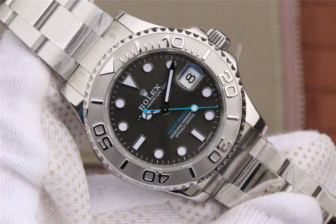 Rolex YachtMaster 37mm 268622 with Grey Dial