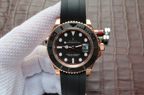Rolex YachtMaster 116655 Rose Gold