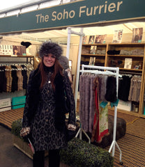 We bumped into one of our gorgeous customers from Olympia wearing our headband