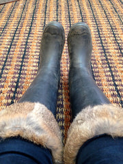 The comfortable (and warm) choice of footwear at The Soho Furrier