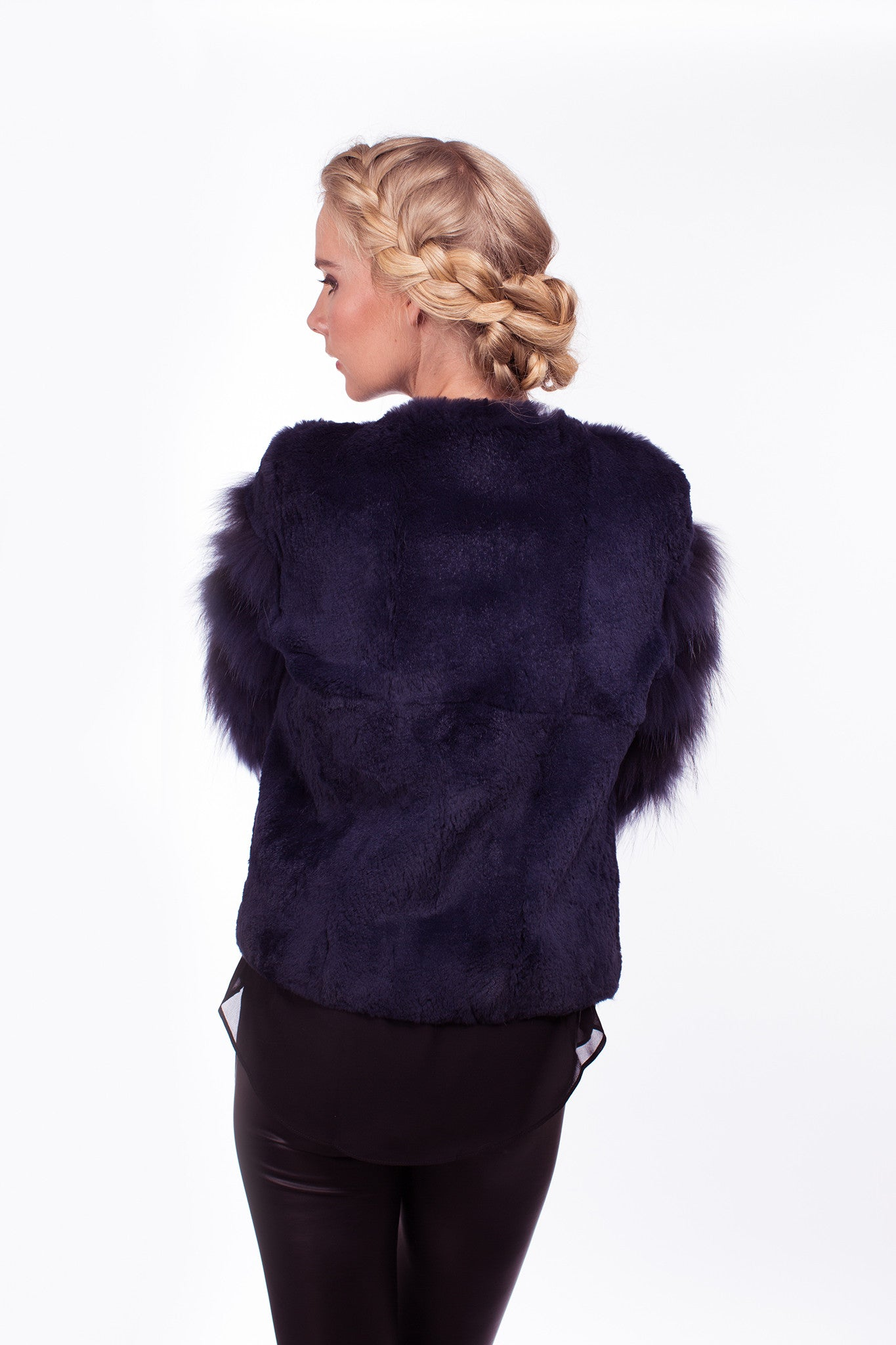 x Romilly Jacket in Ink - The Soho Furrier  - 2
