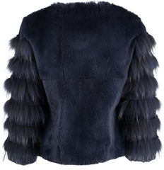 x Romilly Jacket in Ink - The Soho Furrier  - 4