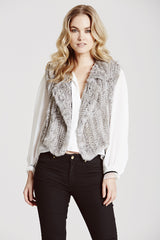 Argyll Biker Gilet - The Soho Furrier  - 1
