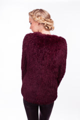 x Seconds: Argyll Box Jacket in Port - The Soho Furrier  - 2