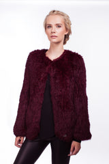 x Seconds: Argyll Box Jacket in Port - The Soho Furrier  - 1