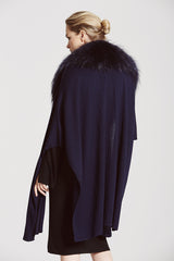 Ultimate Croombe Collar and Cashmere Cape - The Soho Furrier  - 2