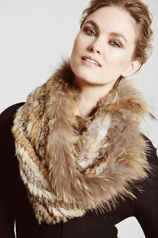 D'Arblay Scarf & Hoop - The Soho Furrier  - 2