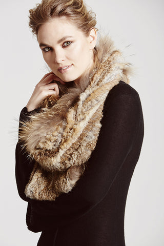 D'Arblay Scarf & Hoop - The Soho Furrier  - 1