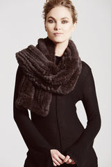 Argyll Luxe Scarf & Hoop - The Soho Furrier  - 1