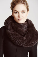 Argyll Luxe Scarf & Hoop - The Soho Furrier  - 2