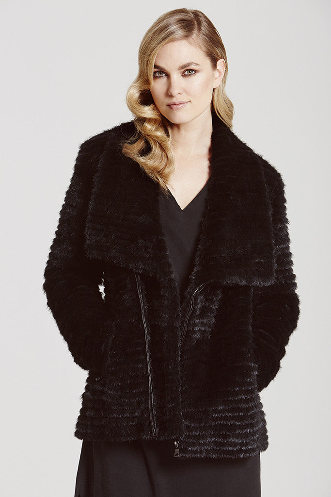 Mink Biker Jacket - The Soho Furrier  - 1