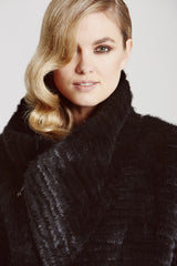 Mink Biker Jacket - The Soho Furrier  - 2