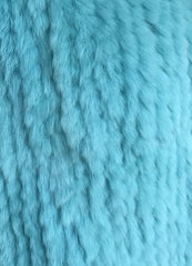 Argyll Luxe Cape - Teal Limited Edition - The Soho Furrier  - 2