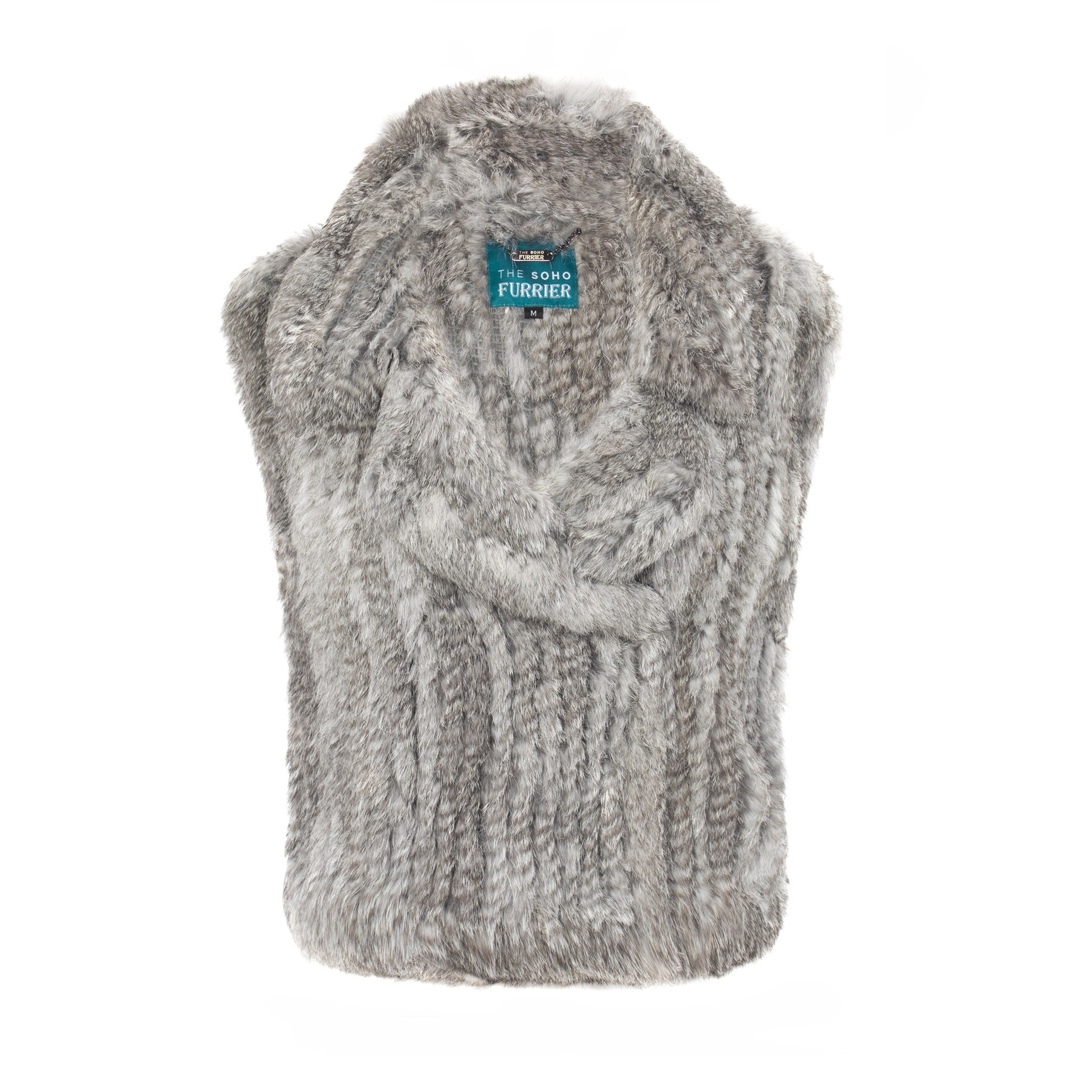 Argyll Biker Gilet - The Soho Furrier  - 3