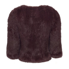 x Seconds: Argyll Box Jacket in Port - The Soho Furrier  - 4