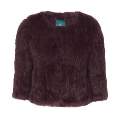x Seconds: Argyll Box Jacket in Port - The Soho Furrier  - 3