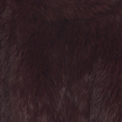 x Seconds: Argyll Box Jacket in Port - The Soho Furrier  - 5