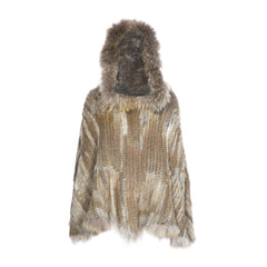 D'Arblay Hooded Poncho - AW16 Sale - The Soho Furrier  - 4