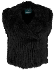 Argyll Biker Gilet - AW16 Sale - The Soho Furrier  - 3