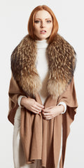 3 in 1 Collar and Cashmere Cape