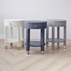 Deacon Side Table Blue