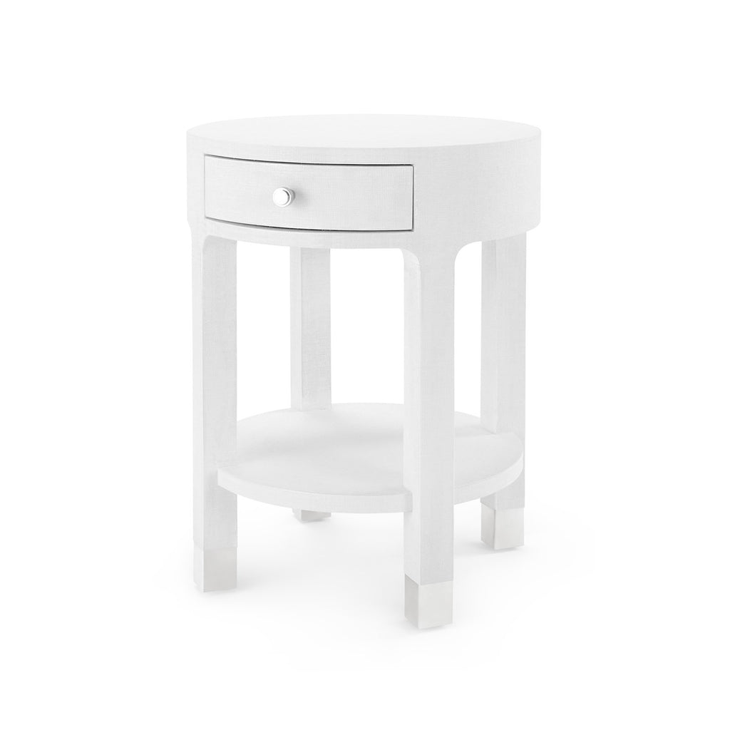 Deacon Side Table White