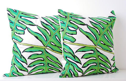 Ankasa Outdoor Leaf Pillow