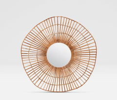 Savannah Rattan Mirror