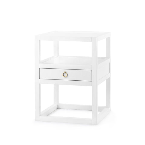 The Cape Side Table - White