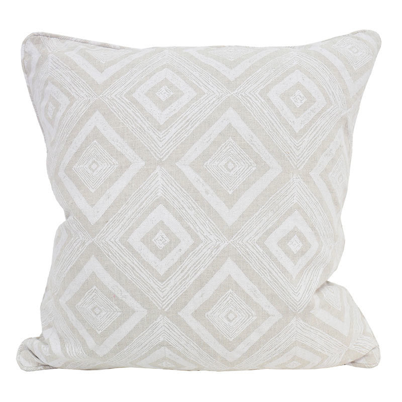Swazi Chalk Linen Pillow