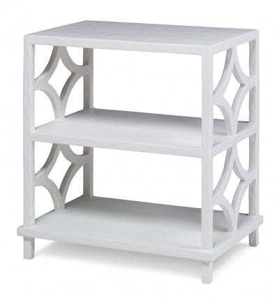 Wolfgang 3-Tier Side Table - White