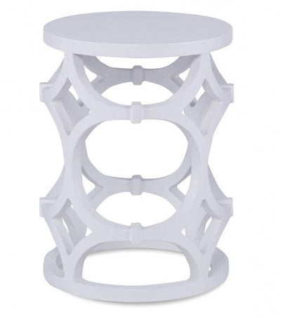 Wolfgang Side Table - White