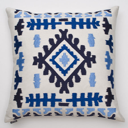 Ankasa Outdoor Diamond Ikat Pillow