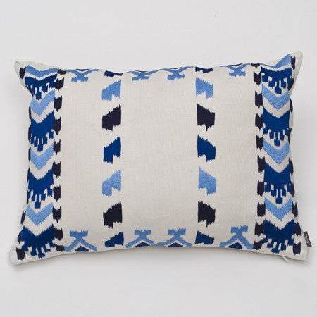 Ankasa Outdoor Kilm Ikat Pillow