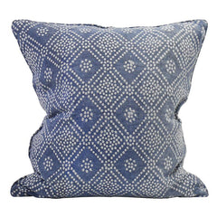 Bandol Inverse Denim Linen Pillow