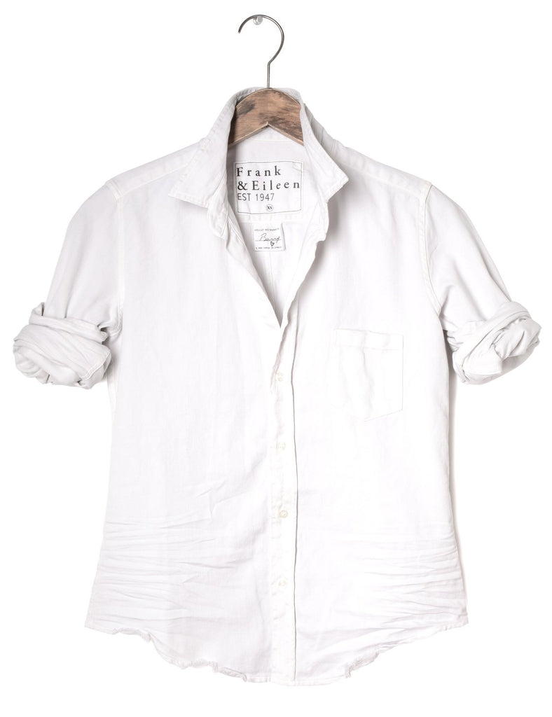 Frank and Eileen Barry Shirt - Dirty White Denim