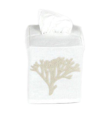Beige Coral Tissue Cover